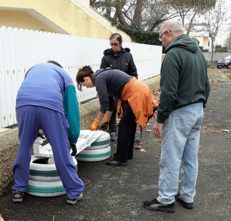 Continua il lavoro dei volontari…